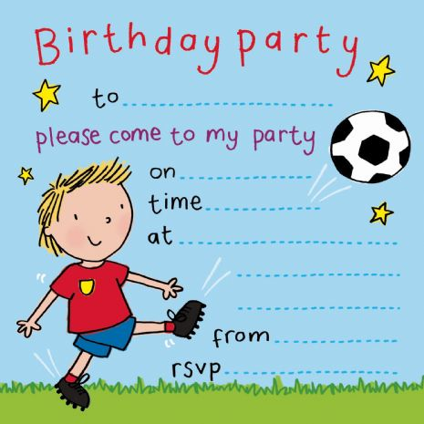 party invitations, birthday party invitations, kids party invitations, children's party invites